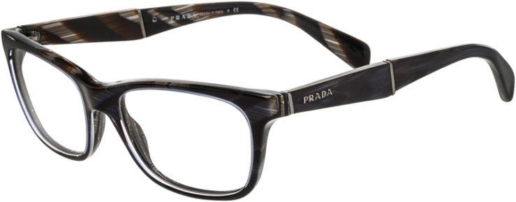 Prada Prescription Glasses Model VPR14P-EAR-101-45