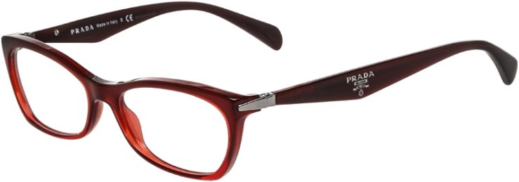 Prada Prescription Glasses Model VPR15P-MAX-101-45
