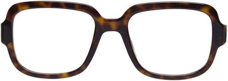 Prada Prescription Glasses Model VPR15R-2AU-101-FRONT