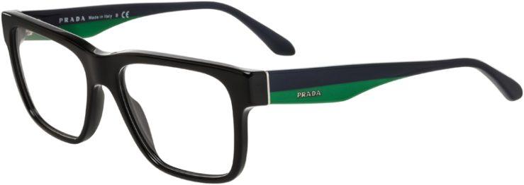 Prada Prescription Glasses Model VPR16R-1AB-101-45