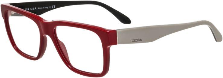 Prada Prescription Glasses Model VPR16R-TKS-101-45