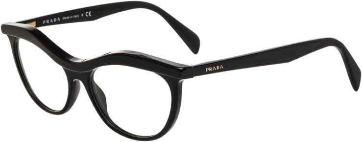 Prada Prescription Glasses Model VPR23P-1AB-101-45
