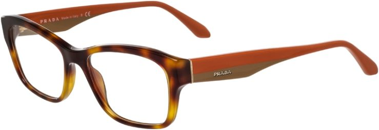 Prada Prescription Glasses Model VPR24R-TKR-101-45