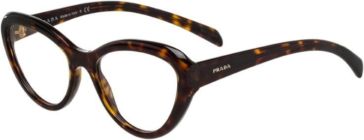 Prada Prescription Glasses Model VPR25R-2AU-101-45