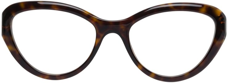Prada Prescription Glasses Model VPR25R-2AU-101-FRONT