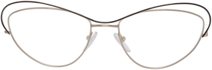 Prada Prescription Glasses Model VPR56Q-QE4-101-FRONT