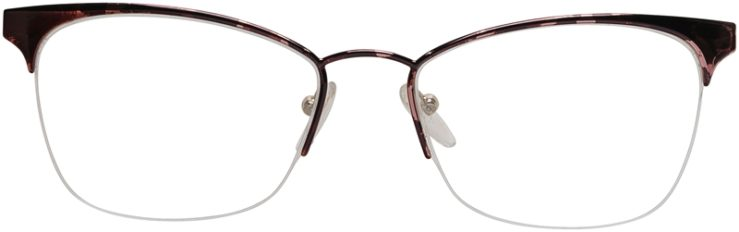 Prada Prescription Glasses Model VPR65Q-ROJ-101-FRONT