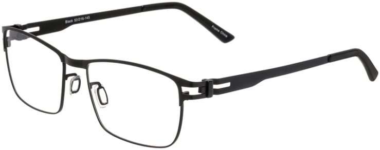 Prescription Glasses Model Art325-Black-45