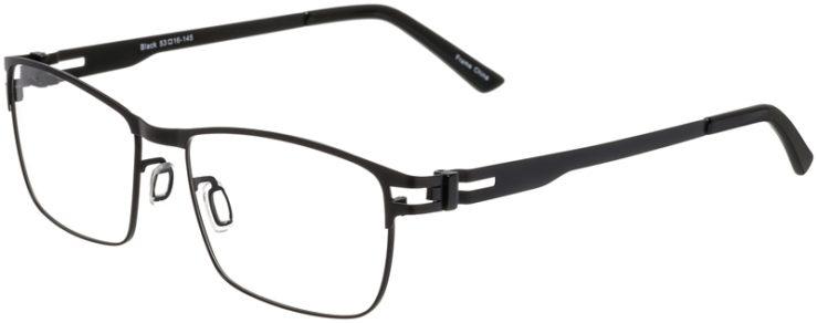 Prescription Glasses Model Art325-Black-45
