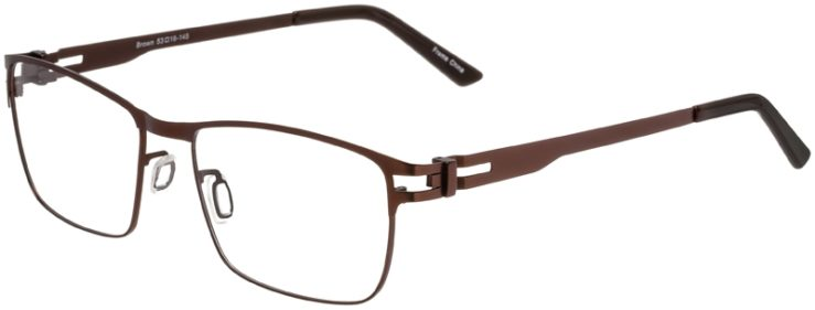 Prescription Glasses Model Art325-Brown-45