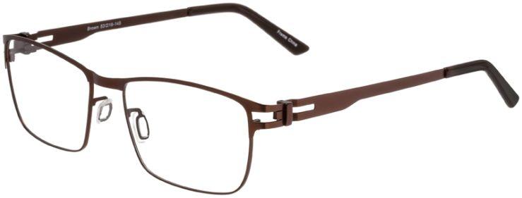 Prescription Glasses Model Art325-Brown-45
