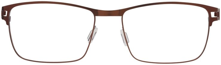 Prescription Glasses Model Art325-Brown-FRONT
