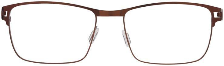 Prescription Glasses Model Art325-Brown-FRONT