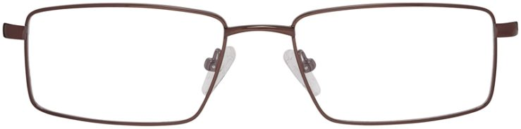 Prescription Glasses Model DC150-Brown-FRONT