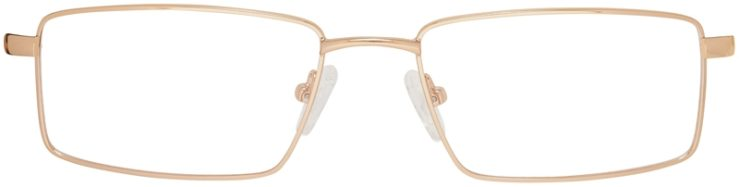 Prescription Glasses Model DC150-Gold-FRONT