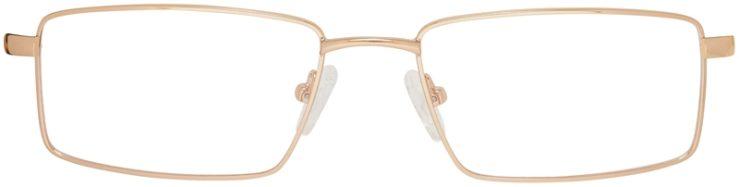 Prescription Glasses Model DC150-Gold-FRONT