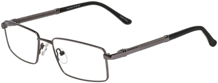 Prescription Glasses Model DC150-Gunmetal-45