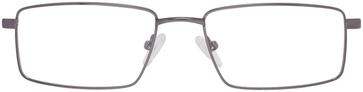Prescription Glasses Model DC150-Gunmetal-FRONT