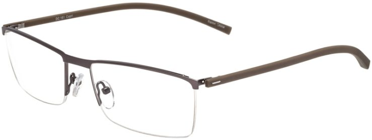 Prescription Glasses Model DC151-Gunmetal-45