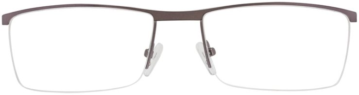 Prescription Glasses Model DC151-Gunmetal-FRONT