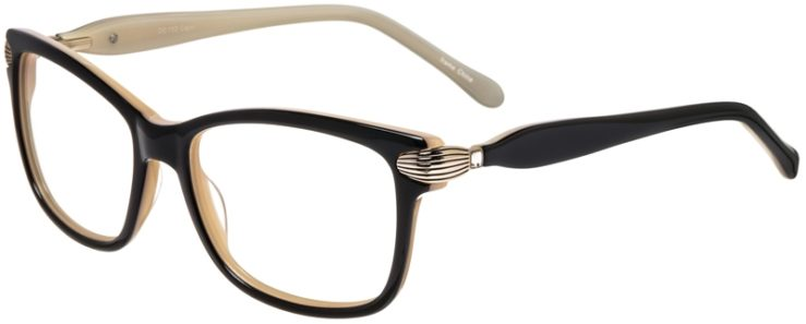 Prescription Glasses Model DC152-Black-45