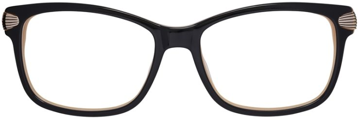 Prescription Glasses Model DC152-Black-FRONT