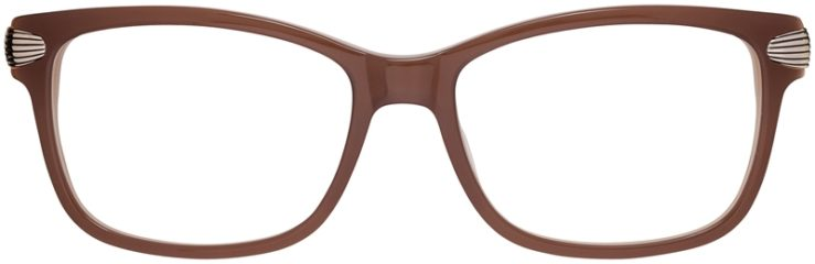 Prescription Glasses Model DC152-Brown-FRONT