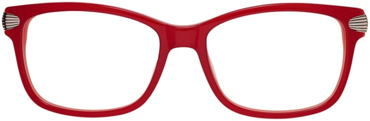 Prescription Glasses Model DC152-Red-FRONT
