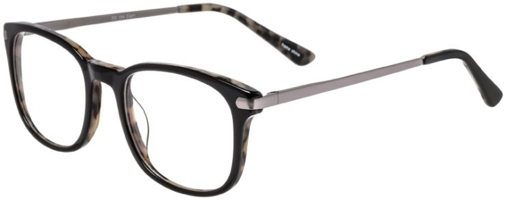 Prescription Glasses Model DC154-Black-45