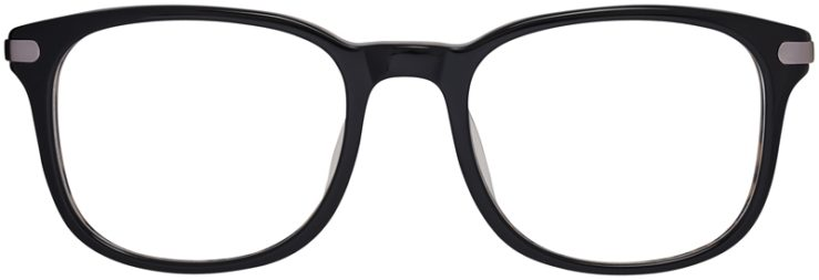 Prescription Glasses Model DC154-Black-FRONT