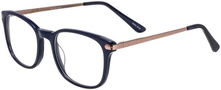 Prescription Glasses Model DC154-Blue-45