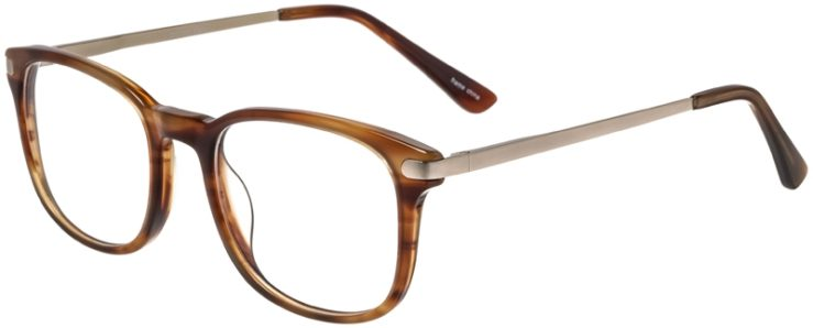 Prescription Glasses Model DC154-Demi Brown-45