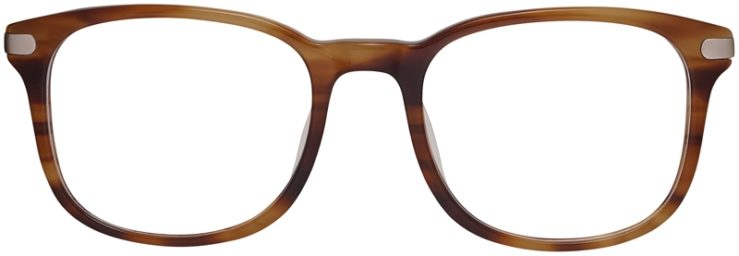 Prescription Glasses Model DC154-Demi Brown-Front