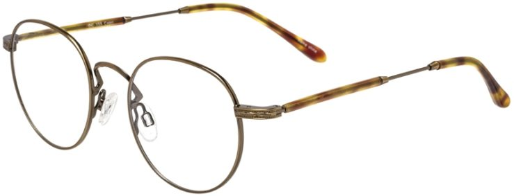 Prescription Glasses Model DC155-Antique Gold-45