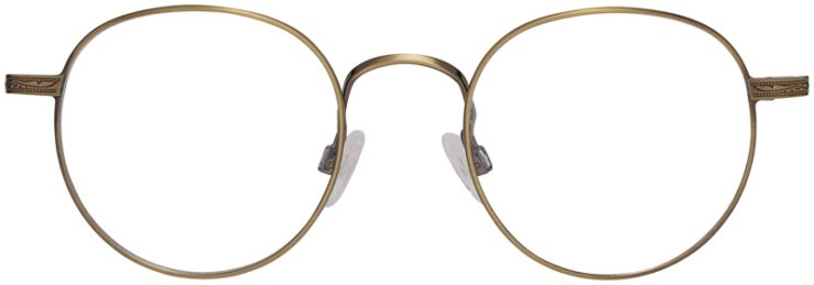 Prescription Glasses Model DC155-Antique Gold-Front
