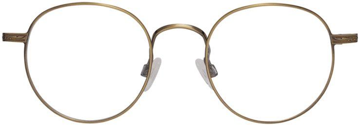 Prescription Glasses Model DC155-Antique Gold-Front
