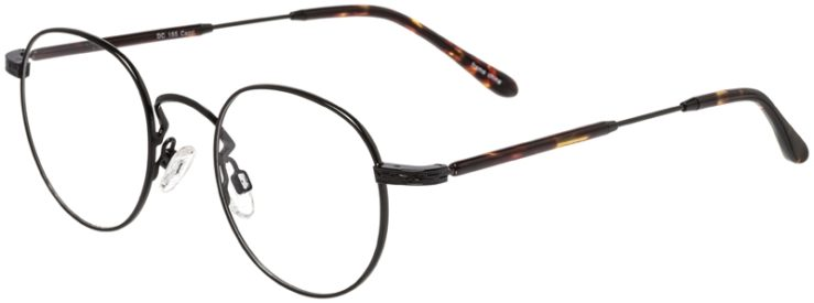Prescription Glasses Model DC155-Black-45