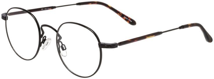 Prescription Glasses Model DC155-Black-45