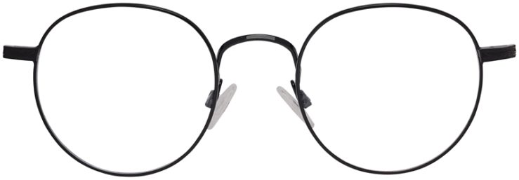 Prescription Glasses Model DC155-Black-Front