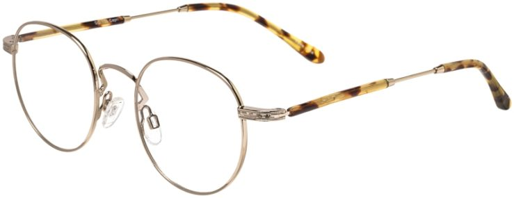 Prescription Glasses Model DC155-Gold-45