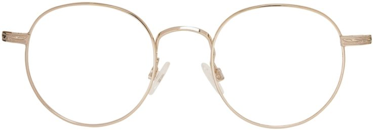 Prescription Glasses Model DC155-Gold-Front
