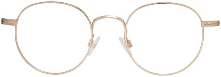 Prescription Glasses Model DC155-Gold-Front