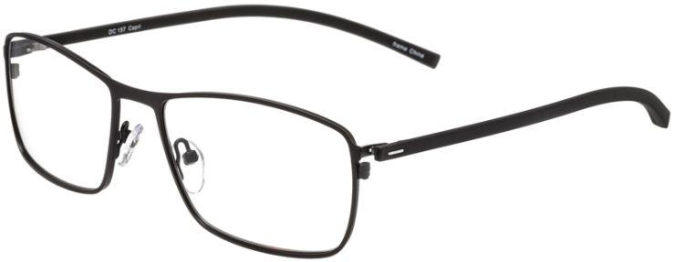 Prescription Glasses Model DC157-Black-45