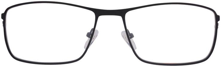 Prescription Glasses Model DC157-Black-Front