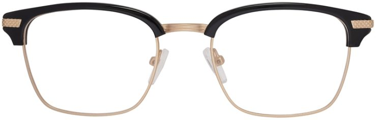 Prescription Glasses Model DC319-BlackGold-FRONT