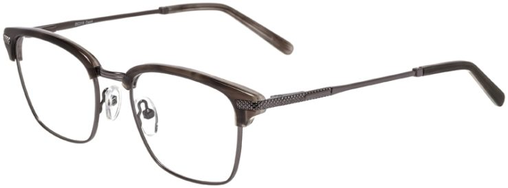 Prescription Glasses Model DC319-GreyGunmetal-45