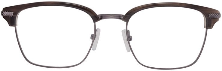 Prescription Glasses Model DC319-GreyGunmetal-FRONT