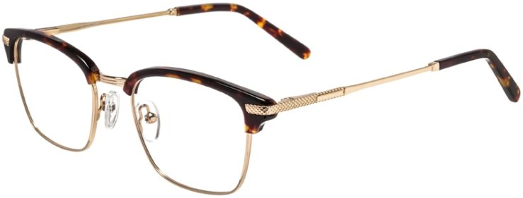 Prescription Glasses Model DC319-TortoiseGold-45