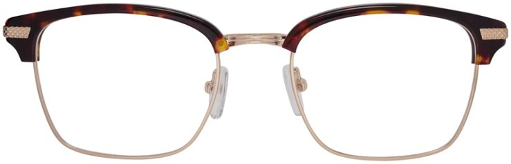 Prescription Glasses Model DC319-TortoiseGold-FRONT