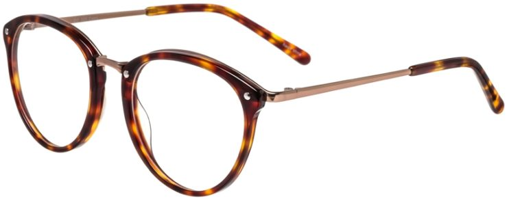 Prescription Glasses Model DC320-Tortoise-45
